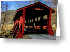 Sleepy Hollow Bridge Greeting Card