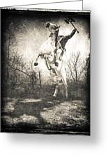 Sleepy Hollow Headless Horseman Greeting Card