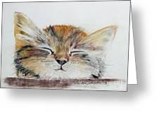 Sleepyhead Greeting Card
