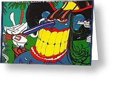 Sleezy Roadside Stories Greeting Card