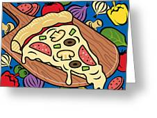 Slice Of Pie Greeting Card