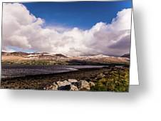 Slieve Mish Mountain In Snow Greeting Card