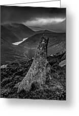 Slievenaglogh To Ben Crom. Greeting Card