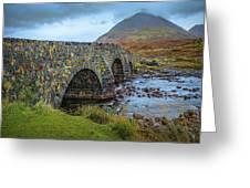 Sligachan Bridge View #h4 Greeting Card by Leif Sohlman