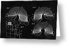 Slinky Patent Design  Greeting Card