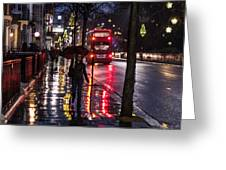 Sloane Street Square Greeting Card