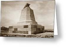 Sloat Monument On The Presidio Of Monterey Circa 1910 Greeting Card