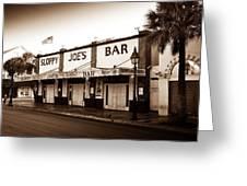 Sloppy Joe's - Key West Florida Greeting Card by Bill Cannon