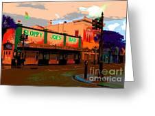 Sloppy Joes Bar Electric Greeting Card