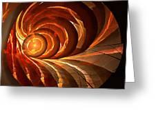 Slot Canyon Spiral Greeting Card