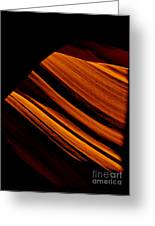 Slot Canyon Striations Greeting Card