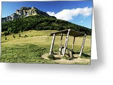 Slovak Mountains Greeting Card