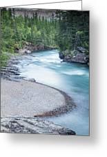 Slow Down On Mcdonald Creek Greeting Card