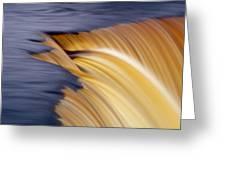 Slow Motion Waterfall Greeting Card by Romeo Koitmae