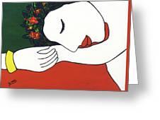 Slumber #204 Greeting Card