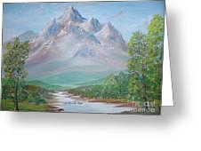 Slumber Mountain Greeting Card