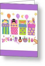 Slumber Party Greeting Card
