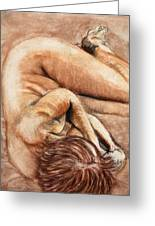 Slumber Pose Greeting Card