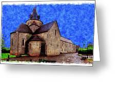 Small Church 2 Greeting Card