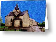 Small Church 3 Greeting Card