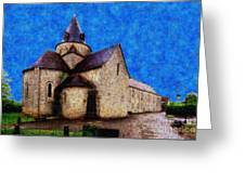 Small Church 4 Greeting Card