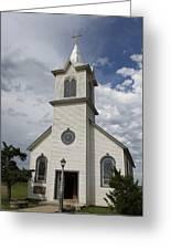 Small Church Greeting Card