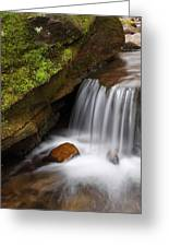 Small Falls At Governor Dodge State Park Greeting Card
