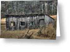 Small Farm Shed Greeting Card