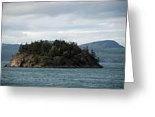 Small Island San Juans  Greeting Card