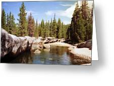 Small Lake Sierra Nevada Greeting Card