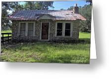 Small Limestone Home Greeting Card