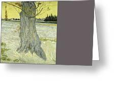 Small Pear Tree In Blossom Arles, April 1888 Vincent Van Gogh 1853  1890 Greeting Card