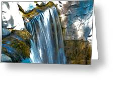 Small Stop Motion Waterfall Greeting Card