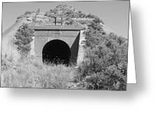 Small Tunnel Greeting Card