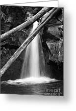 Small Waterfall Greeting Card