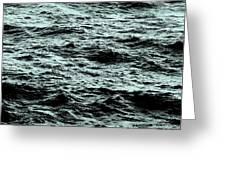 Small Waves Greeting Card