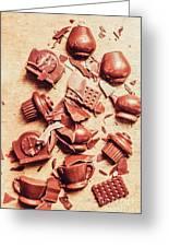 Smashing Chocolate Fondue Party Greeting Card