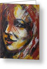 Smile - Portrait Of A Woman Greeting Card