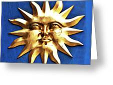 Smiling Sunshine Greeting Card