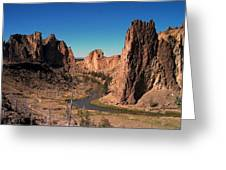 Smith Rock Greeting Card