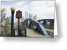 Smithfield Street Bridge Greeting Card