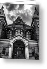 Smithsonian Arts And Industries Building Greeting Card