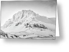 Smjorhnukur Cloaked In White Greeting Card