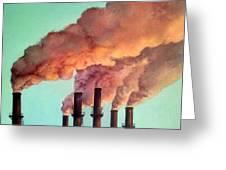 Smog Industrial II Greeting Card