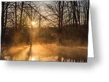 Smoke On The Water Greeting Card