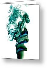 smoke XXIII Greeting Card