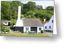 Smokehouse. Denmark Greeting Card