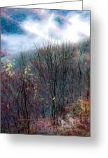 Smokey Mountain Ridge Greeting Card