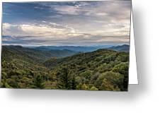 Smokey Mountain Sky Greeting Card