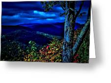 Smokey Mountain Still Life Greeting Card by William Jones